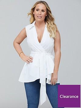 kate-ferdinand-sleeveless-cotton-poplin-blouse-white