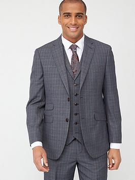 Skopes Skopes Tailored Witton Jacket - Grey/Blue Check Picture