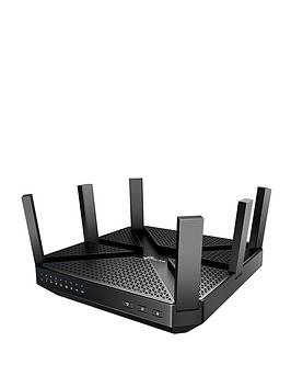 TP Link  Tp Link Archer C4000 Ac4000 Mu-Mimo Tri-Band Gigabit Wifi Router