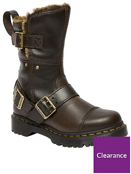 dr-martens-kristy-mid-buckle-calf-boots-brown
