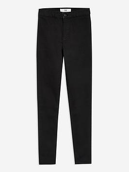 Topshop Topshop Holding Power Joni Jeans - Black Picture