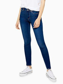 Topshop Topshop Leigh Skinny Jeans - Indigo Picture