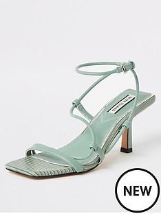 river-island-river-island-mid-heel-strappy-sandals-sage-green