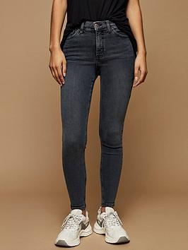 Topshop Topshop Jamie Jeans - Grey Picture