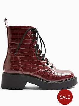 topshop-kacy-lace-up-boots-burgundy