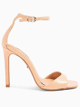 Topshop Topshop Silvy Stiletto High Heels - Nude Picture
