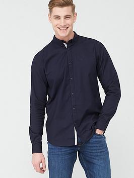 river-island-maison-riviera-long-sleeve-shirt-navynbsp