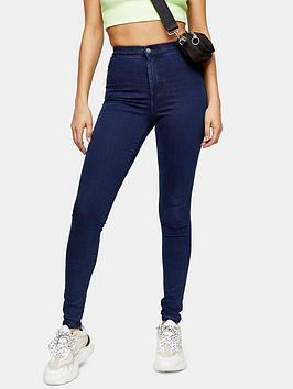 Topshop Topshop Holding Power Joni Jeans - Indigo Picture