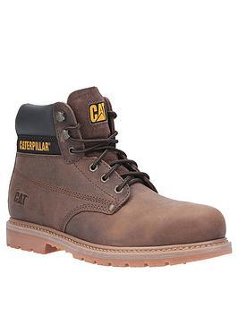 cat-cat-powerplant-boot-brown