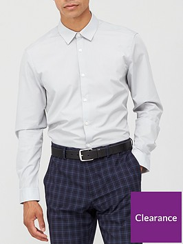 very-man-long-sleeved-easycare-shirt-charcoal