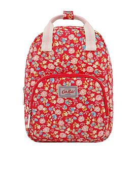 Cath Kidston Cath Kidston Girls Medium Floral Backpack - Red Picture