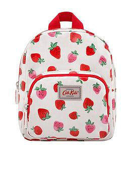 Cath Kidston Cath Kidston Girls Mini Strawberry Backpack - Cream Picture
