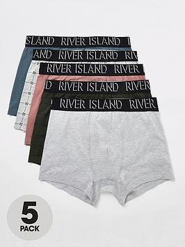 river-island-logo-5-pack-trunks
