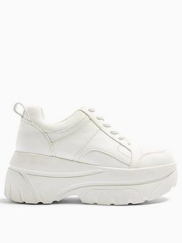 Topshop Topshop Cali Chunky Trainers - White Picture