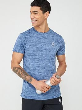 Gym King Gym King Sport Grindle T-Shirt - Blue Picture