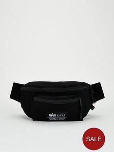 alpha-industries-coordinates-waist-bag-black