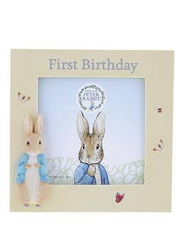Peter Rabbit Peter Rabbit 1St Birthday Photo Frame Picture