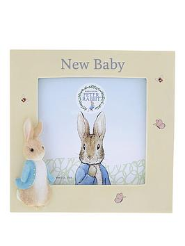 Peter Rabbit Peter Rabbit New Baby Photo Frame Picture