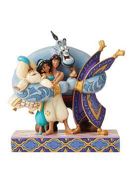 Disney Disney Aladdin Group Hug Figurine Picture