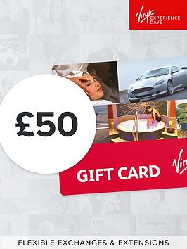 Virgin Experience Days Virgin Experience Days &Pound;50 Gift Card - Valid  ... Picture