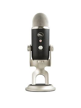 Blue   Yeti Pro Usb/Analog Microphone - Black