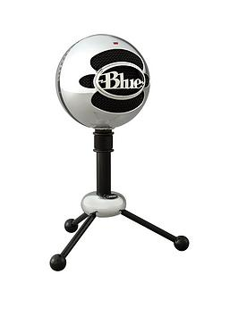 Blue   Snowball Usb Microphone - Brushed Aluminum