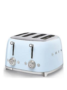 Smeg Smeg 50S 4 Slice Toaster - Blue Picture