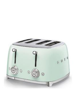 Smeg Smeg 50S 4 Slice Toaster - Green Picture