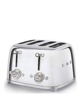 Smeg Smeg 50S 4 Slice Toaster - Stainless Steel Picture