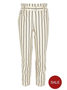 river-island-girls-stripe-belted-trousers-cream