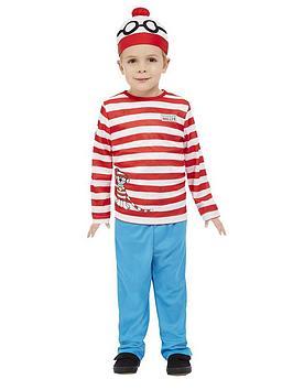 Where's Wally Where'S Wally Wheres Wally Toddler Costume Picture