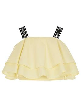 river-island-girls-frill-cropped-poplin-top-yellow