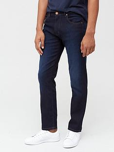 wrangler-arizona-soft-luxe-regular-straight-fit-jeans-blue-stroke