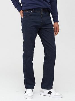 Wrangler Wrangler Texas Straight Fit Jeans - Blue/Black Wash Picture