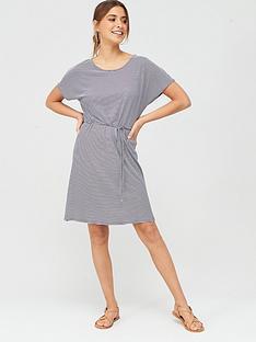 v-by-very-short-sleeve-jerseynbspdress-stripe