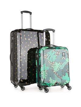revelation-by-antler-jungle-bundle-2-piece-luggage-set
