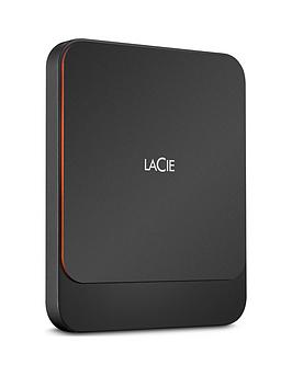 Lacie    Portable External Ssd 1000Gb Usb-C Pc/Mac Sthk1000800