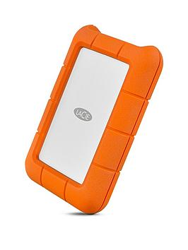 Lacie   Rugged Usb-C 500Gb Ssd Sthr500800 Portable Hard Drive