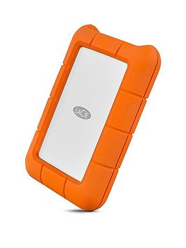 Lacie Lacie Rugged Usb-C 1000Gb Ssd Sthr1000800 1Tb Portable Hard Drive Picture