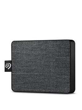 Seagate Seagate Seagate One Touch 1000Gb External Ssd Black Stje1000400  ... Picture