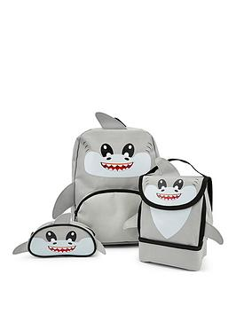 Very Shark Backpack, Lunch Bag And Pencil Case Picture