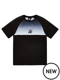 kings-will-dream-boys-yeddon-short-sleeve-t-shirt-blackwhite