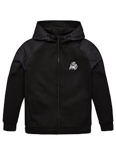 kings-will-dream-boys-yeddon-zip-through-hoodie-black
