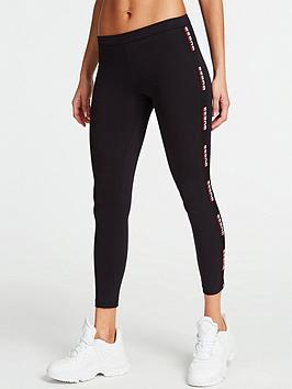 Guess Guess Logo Tape Leggings - Black Picture