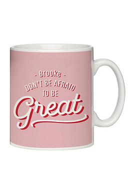 Very Personalised Be Great Mug Picture