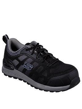 skechers-bulkin-lyndale-safety-slip-resistant-toe-cap-trainers-blackgrey