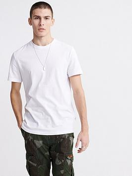 Superdry Superdry Edit Lite Jersey T-Shirt - White Picture