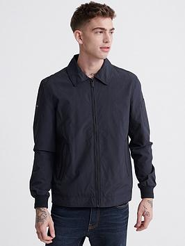 Superdry Superdry Collared Harrington Jacket - Navy Picture