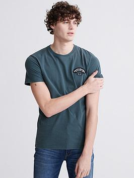Superdry Superdry Merch Store Patch T-Shirt - Blue Picture