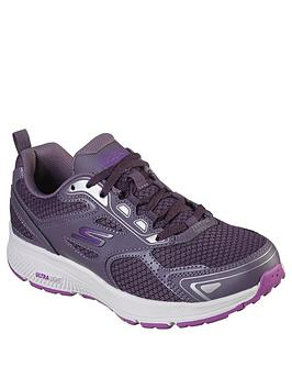 skechers-go-run-consistent-trainers-plum